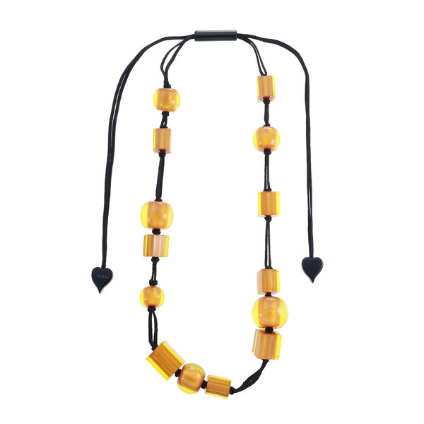 Collier couleurs winter yellow | Colourful Cubes