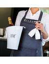 Wijnkoeler met print: Love