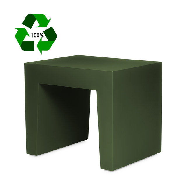 Concrete Seat Recycled Forest