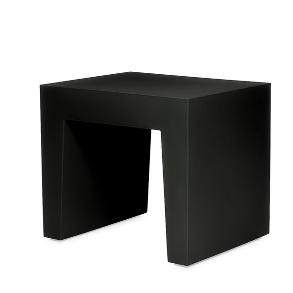 Concrete Seat Recycled Black