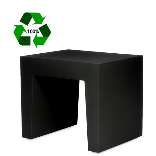 FATBOY Concrete Seat Recycled Black