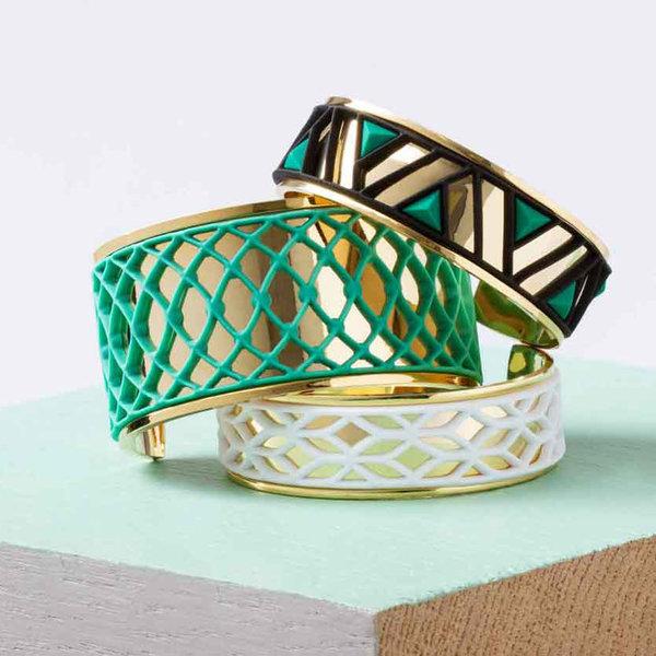 Armband LACE Zilver met 3 verwisselbare kleuren