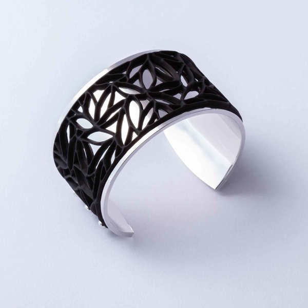 Armband BOTANICAL Zilver met 3 verwisselbare kleuren