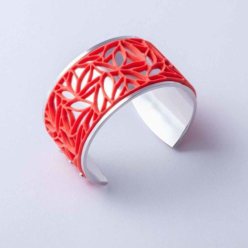 Batucada Armband BOTANICAL Zilver met 3 verwisselbare kleuren