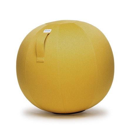 VLUV LEIV Pouf siège ballon Mustard