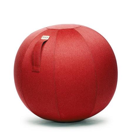 VLUV LEIV Pouf siège ballon Ruby Red