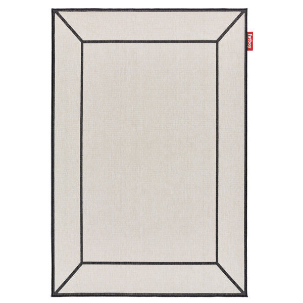 Carpretty Frame Off-White (200 x 290 cm)