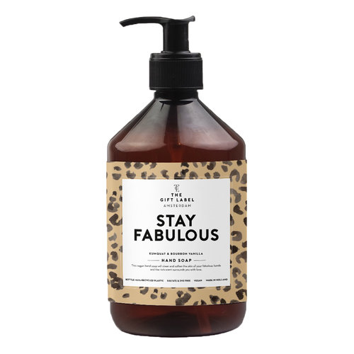 The Gift Label Handzeep 500 ml | Stay Fabulous