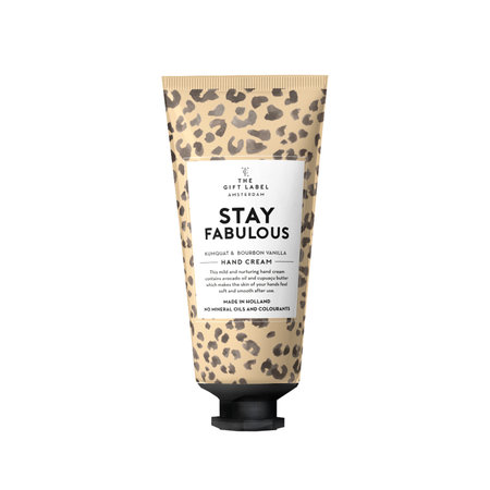 The Gift Label Handcrème tube 40 ml | Stay Fabulous