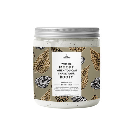 The Gift Label Body Salt Scrub 600 g | Why be moody