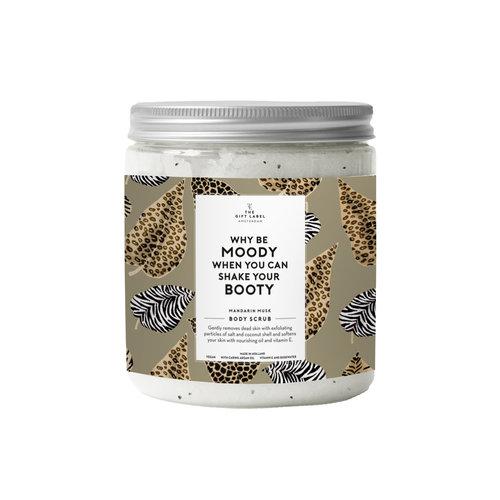The Gift Label Body Salt Scrub 600 g | Why be moody