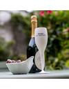 Champagneglas met opdruk: Champagne s'il vous plaît   100 ml