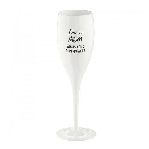 Koziol Flûte à champagne: I'm a Mom, ...