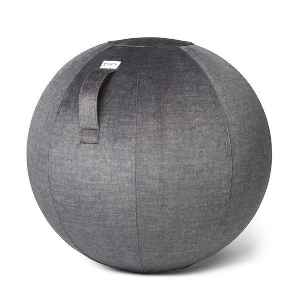 VARM Pouf siège ballon Anthracite