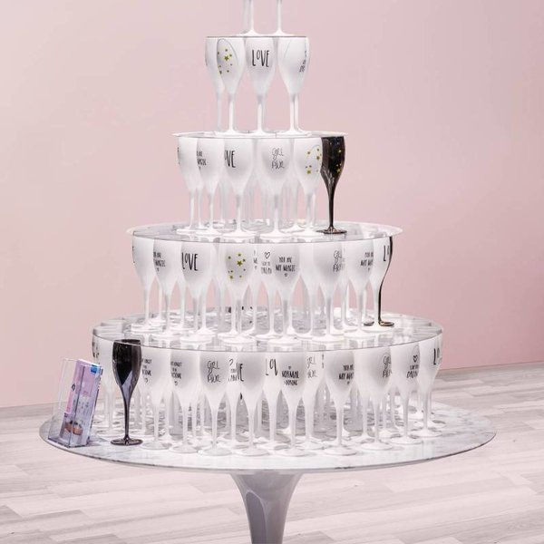 Champagneglas: Love is in the air