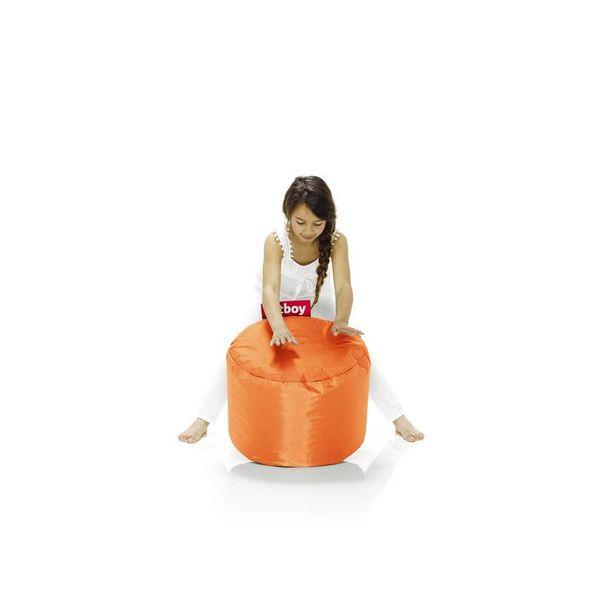 Point poef in nylon - Oranje