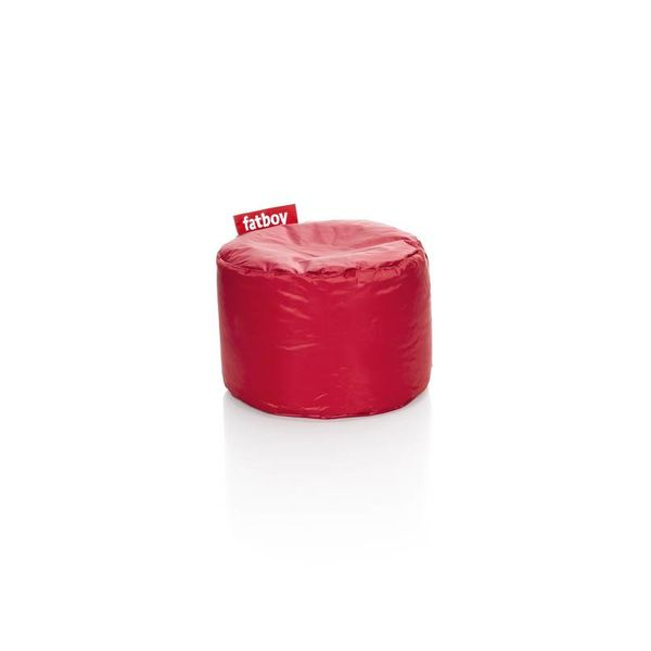 Point poef in nylon - Rood