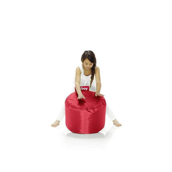 Pouf Rond Point Fatboy - Rouge