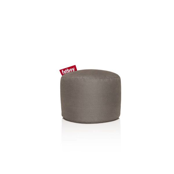 Pouf Rond Point Fatboy - Taupe Stonewashed