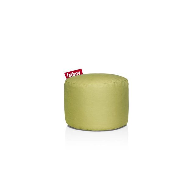 Pouf Rond Point Fatboy - Vert lime Stonewashed