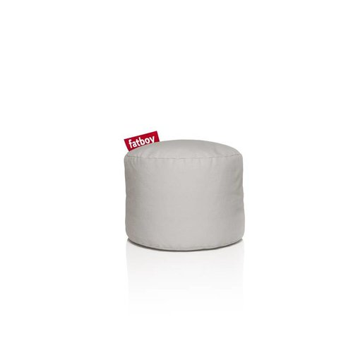 FATBOY Pouf Rond Point Fatboy - Argent/Gris Stonewashed