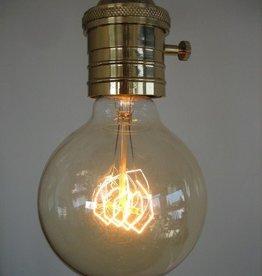 Elzet gifts en living lampje, bol 95x125mm E27 40W