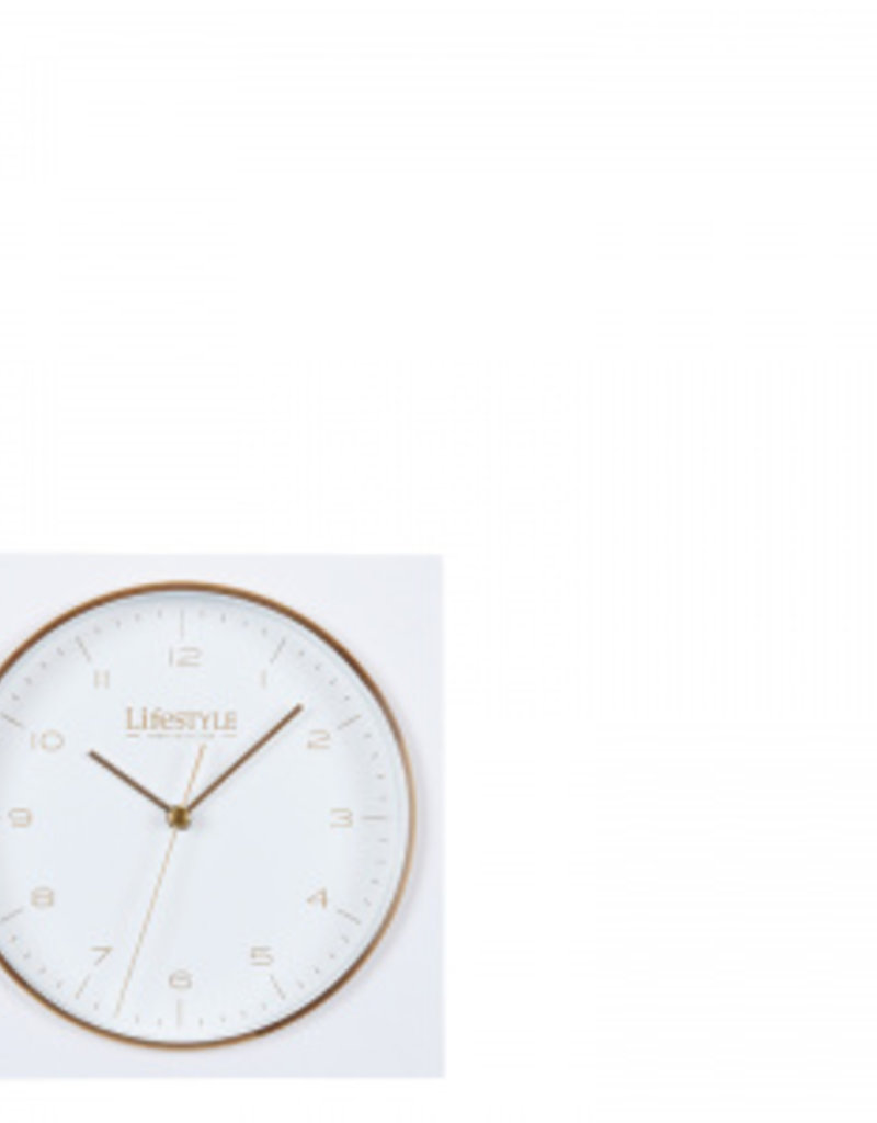 Lifestyle amsterdam table-clock white