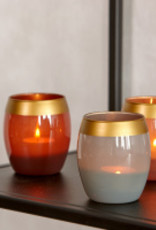 Braxton aspen votive, brown