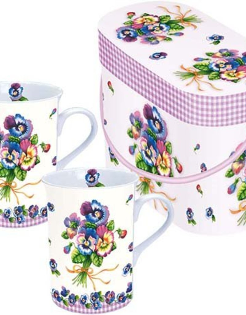 Ambiente giftset, Bunch of Pansy