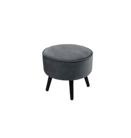 footstool tess grijs