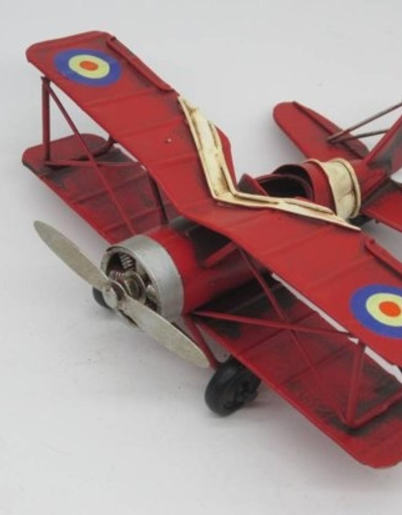 Clayre en Eef Modelvliegtuig rood  klein