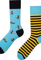 Many Mornings Toffe sokken - bijen -