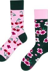 Many Mornings Toffe sokken - kersen-bloesem 39/42