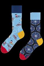 Many Mornings Toffe sokken - fiets
