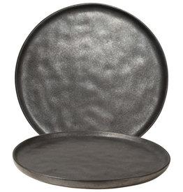 Gusta Dinerbord dia 26,5cm Zwart- TT Shimmer