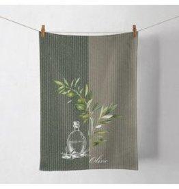 ambiente theedoek- olijftak - 50x70 cm