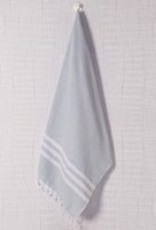 Lalay Hamam handdoek - grijs - 100x180 cm