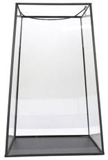 Gusta Piramide-Lantaarn 21x21x33cm Glas