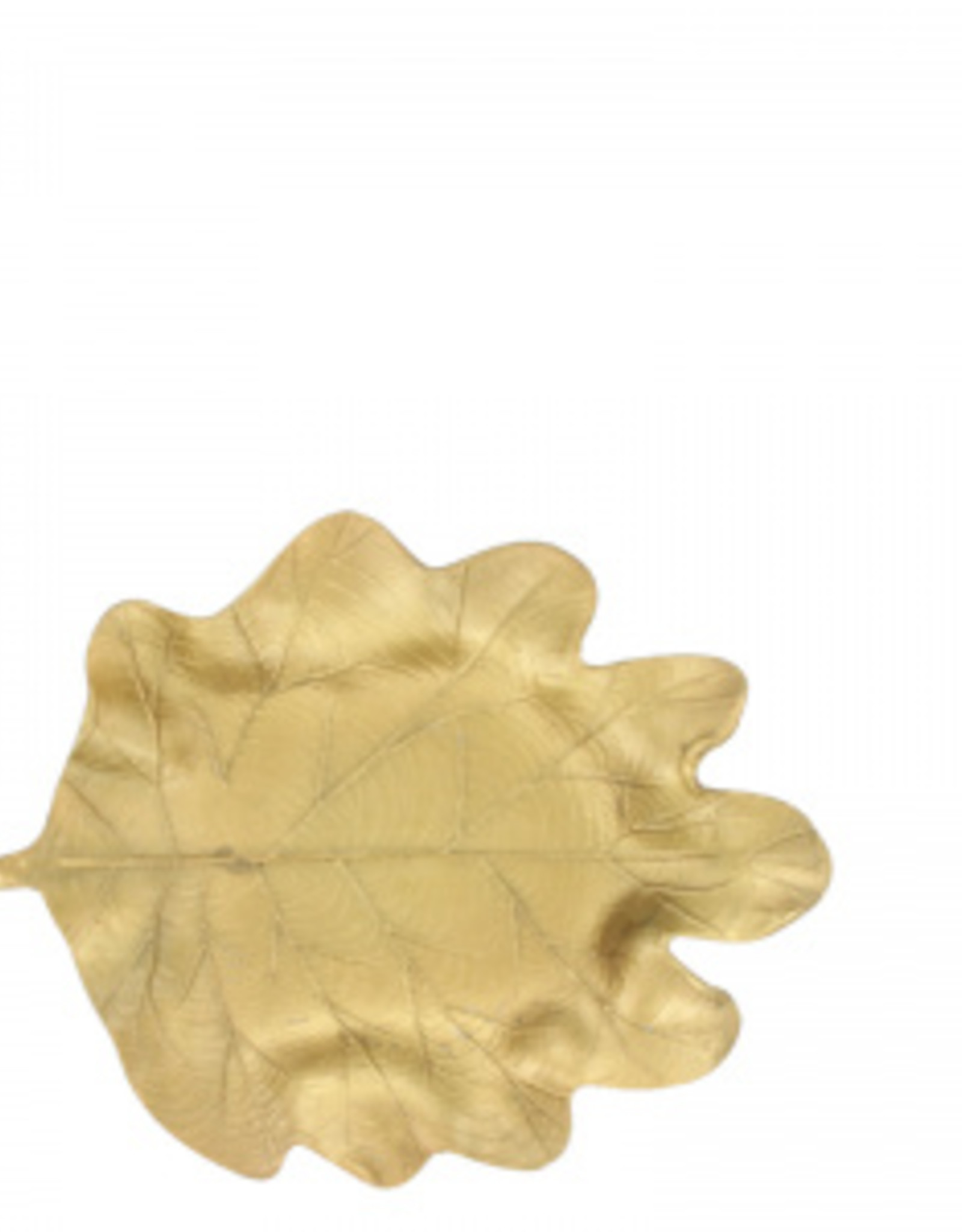 Lifestyle golden leaf tray S