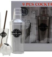 Cocktailset 9-delig