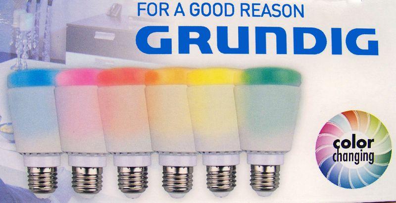 Grundig Lampenset met WIFI & LED kleurschakeringen