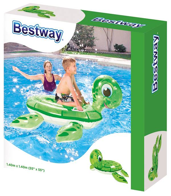 Bestway Ride-on schildpad 140x140cm