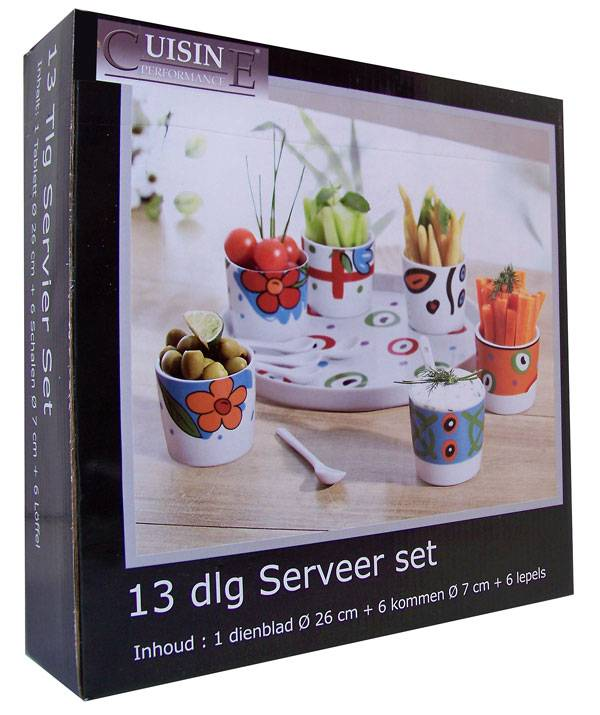 Cuisine Performance Cuisine Serveerset (13 delig)