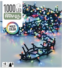 DecorativeLighting Micro Cluster 1000 LED's 20 meter multicolor