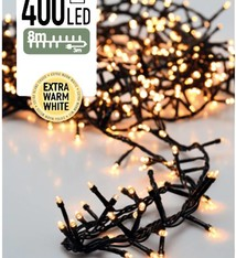 DecorativeLighting Micro Cluster 400 LED's 8 meter warm wit