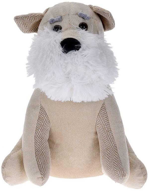 Deurstopper hond wit-creme