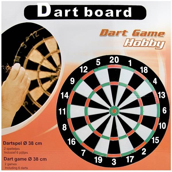 Dartspel 38 cm
