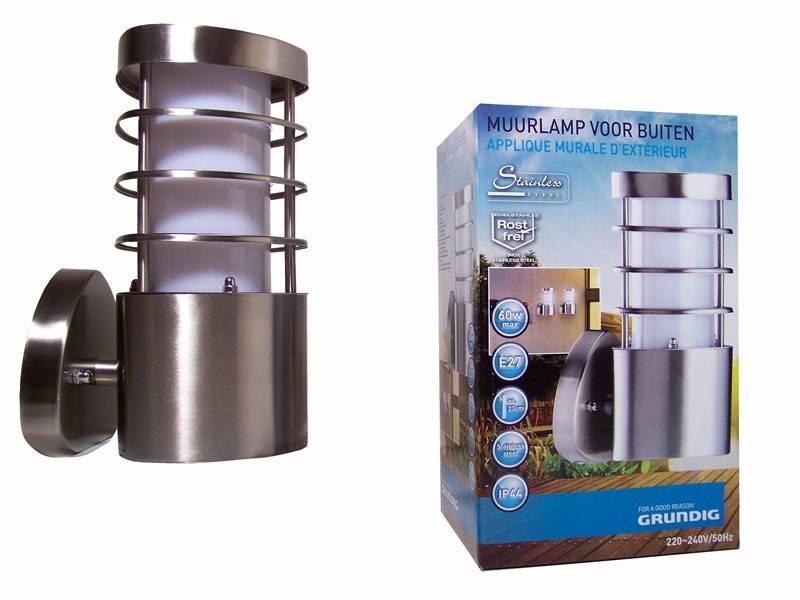 Grundig Wandlamp voor buiten (buienlamp)