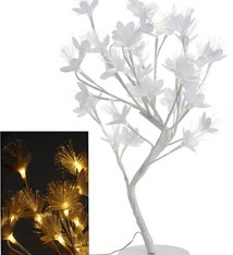 Bloemenboom met fiberverlichting (45cm)