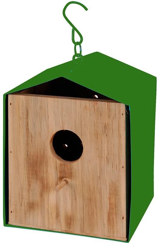 Vogelhuis groen
